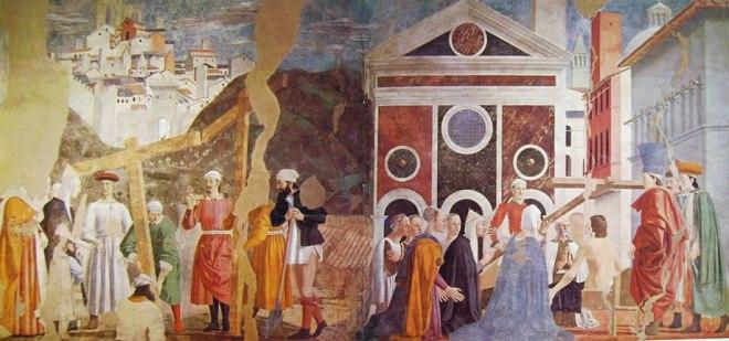 Ritrovamento delle tre croci e la verifica della vera Croce