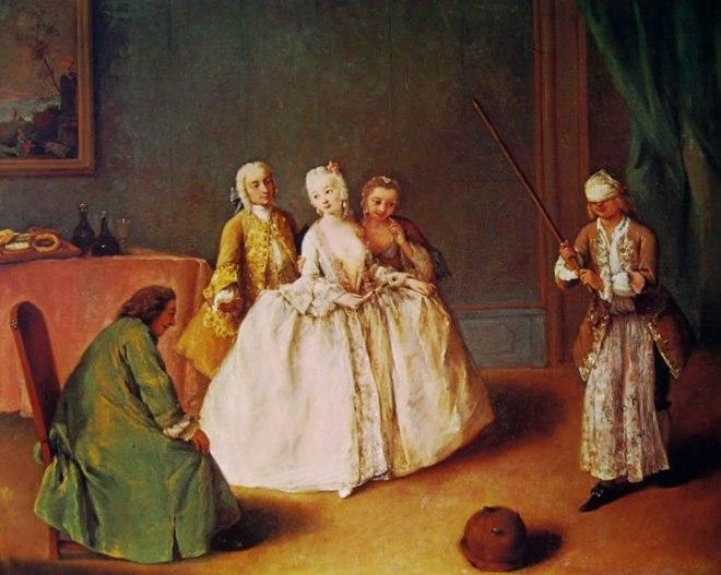 Pietro Longhi: Il gioco della pentola