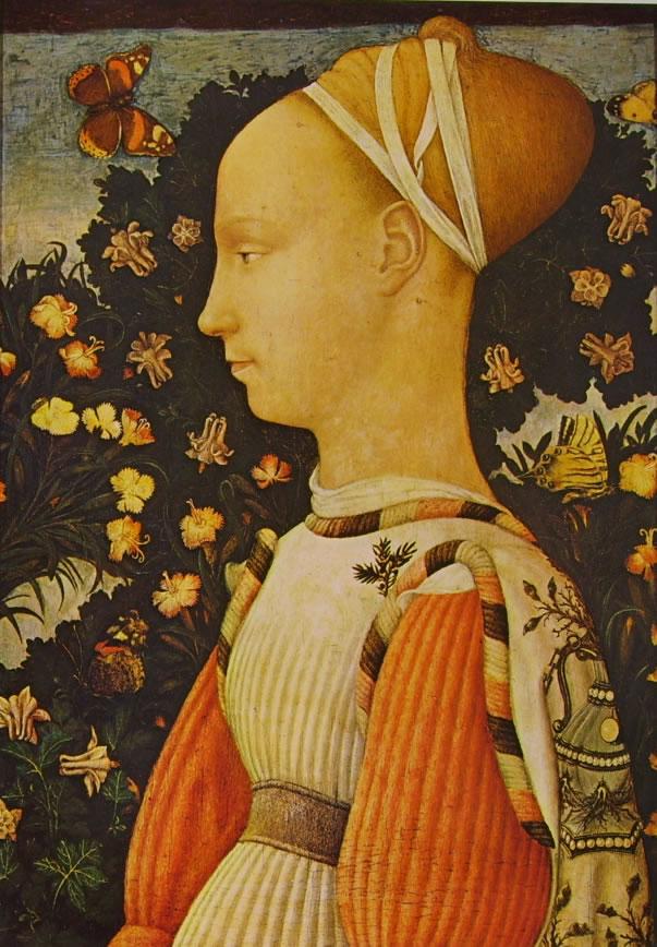 Pisanello: Ritratto di una principessa d'Este