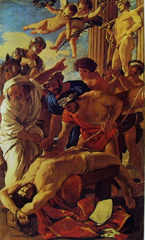 Nicolas Poussin: Il martirio di Sant'Erasmo