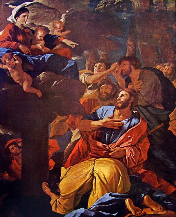 Nicolas Poussin: Apparizione della Vergine a San Giacomo