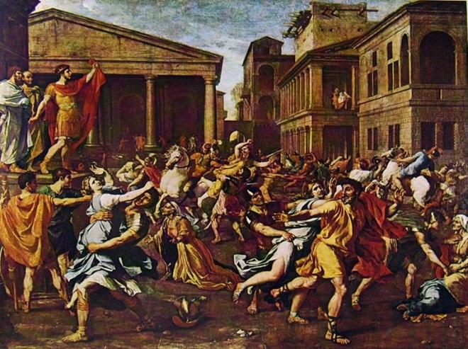 Nicolas Poussin: Il ratto delle Sabine