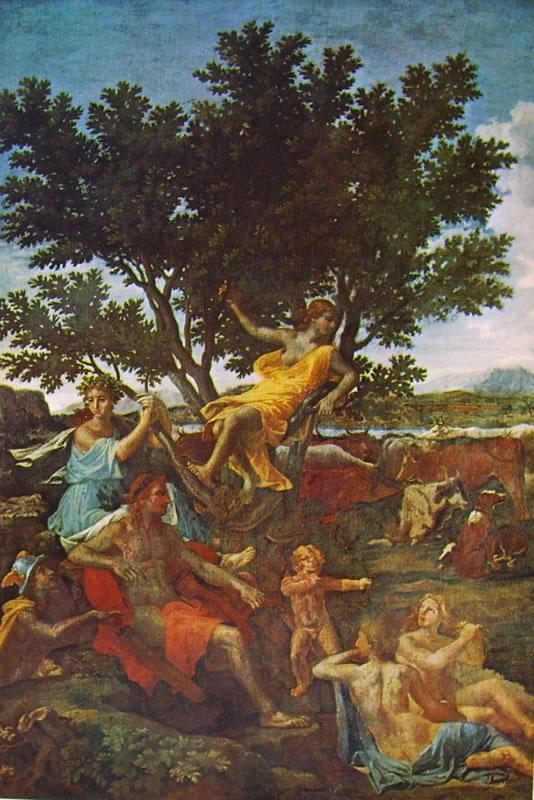 Nicolas Poussin: Apollo e Dafne