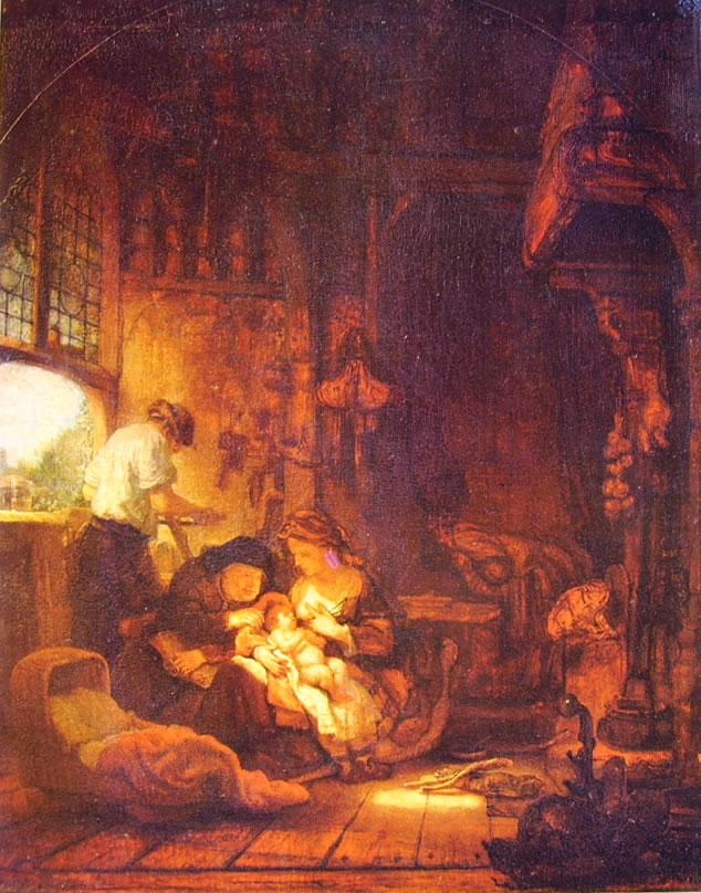 Rembrandt Harmenszoon Van Rijn: Sacra famiglia