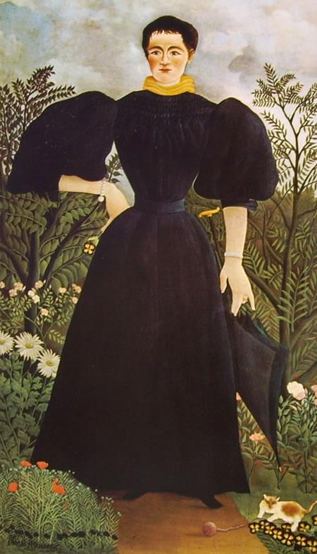 Rousseau il Doganiere: Ritratto di donna