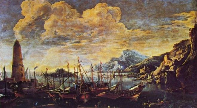 Salvator Rosa: Marina del Faro