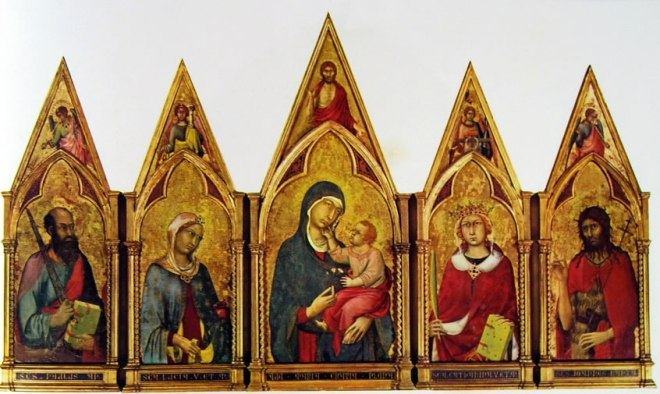 Simone Martini - Polittico di Boston