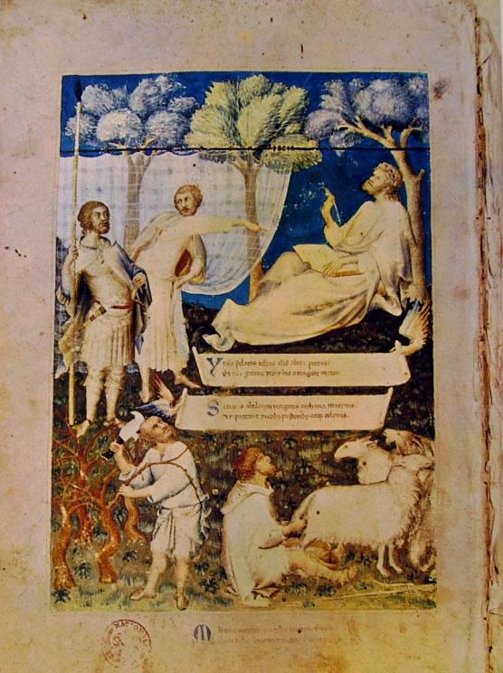 Simone Martini - Allegoria virgiliana