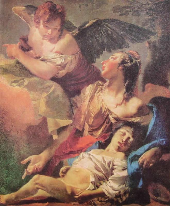 Il Tiepolo: Agar e Ismaele