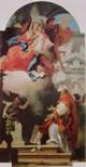 27 Gian Battista Tiepolo - apparizione della Madonna col Bambino
