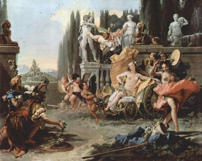 Il Tiepolo: Trionfo di Flora