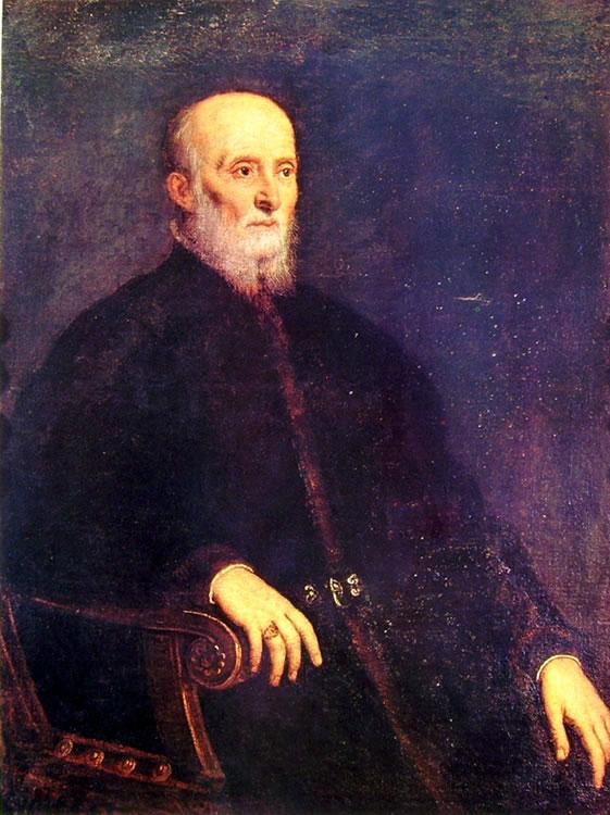 Il Tintoretto: Ritratto di Alvise Cornaro