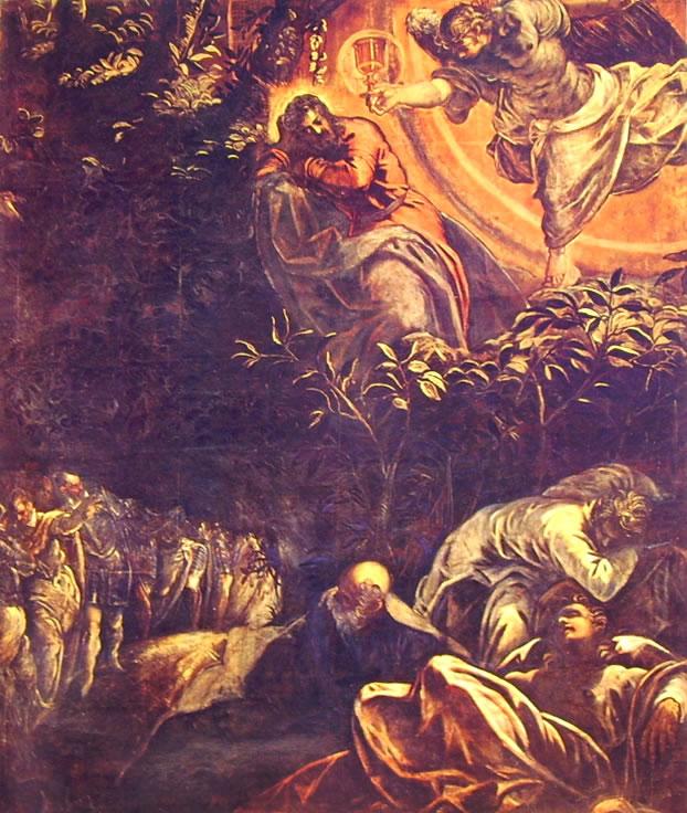 Il Tintoretto: Dipinti per la sala grande di San Rocco - L'orazione nell'orto