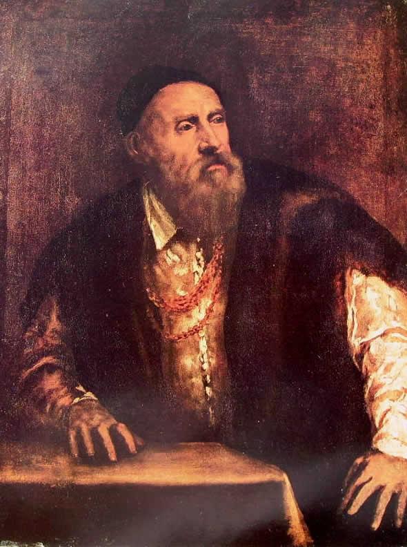 Tiziano - Autoritratto