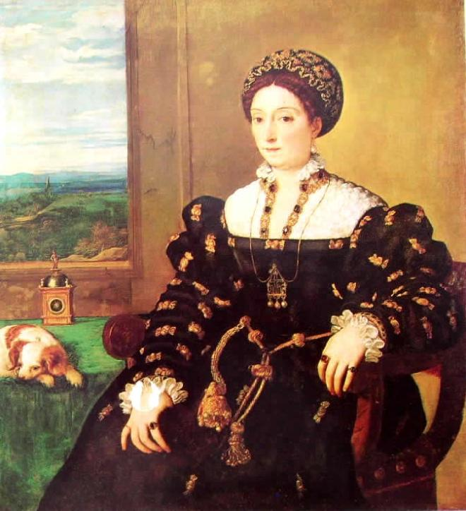Tiziano: Ritratto di Eleonora Gonzaga