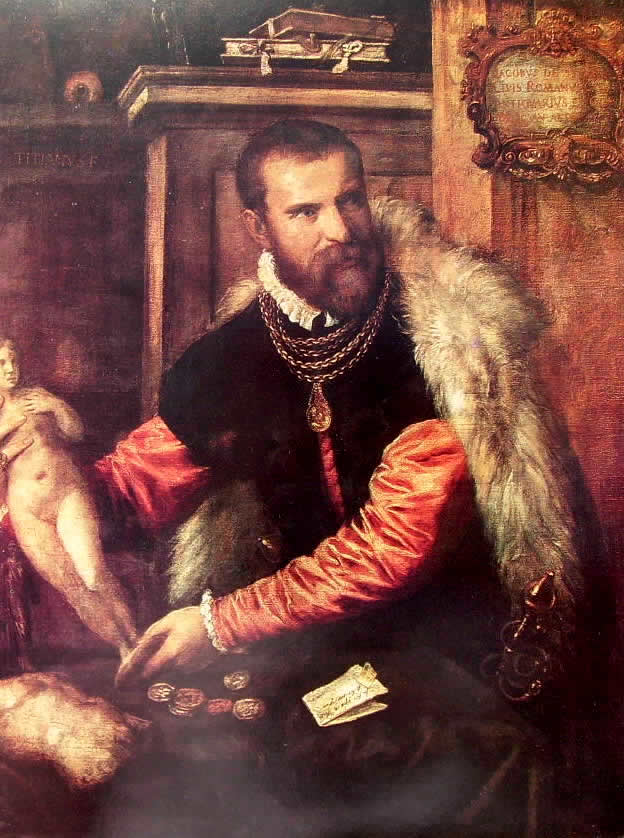 Tiziano: Ritratto di Jacopo Strada