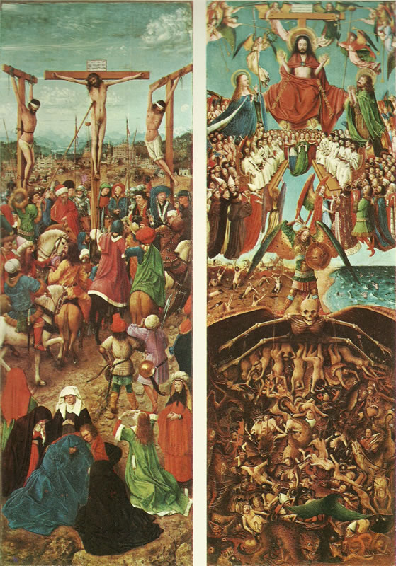 Jan van Eyck:Gli sportelli di New York