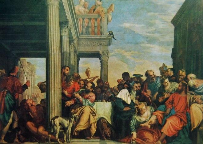 Il Veronese: La cena in casa di Simone