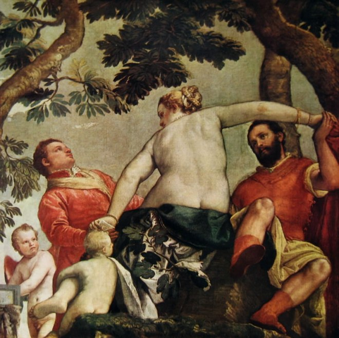 Il Veronese: L'infedeltà (La contesa d'amore)