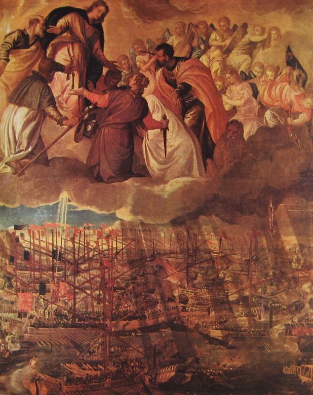 Il Veronese: Allegoria della battaglia di Lepanto