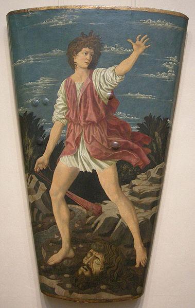 Andrea del Castagno: David con la testa di Golia