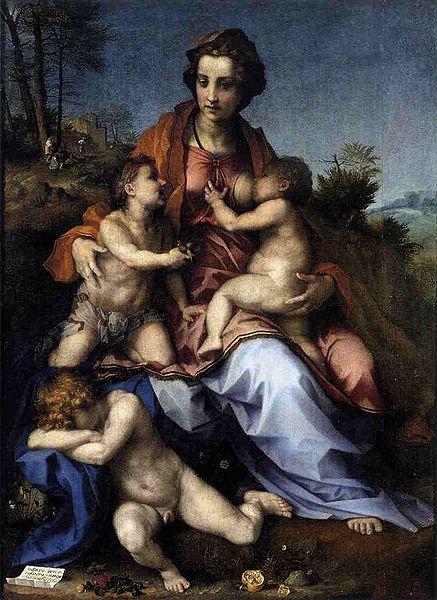 Andrea del Sarto: Carità