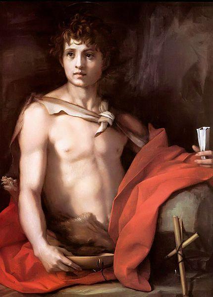 Andrea del Sarto: San Giovannino