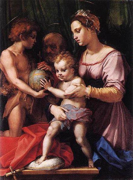 Andrea del Sarto: Sacra Famiglia Borgherini