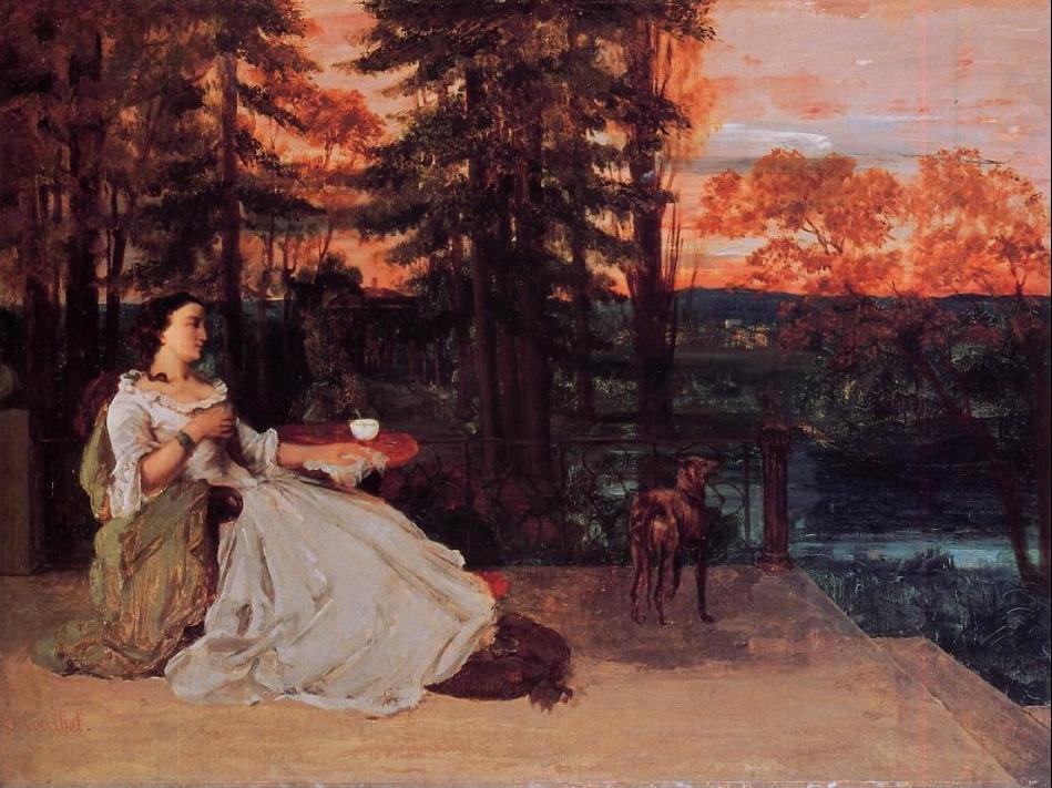 opere di Courbet Archivi  FRAMMENTIARTE