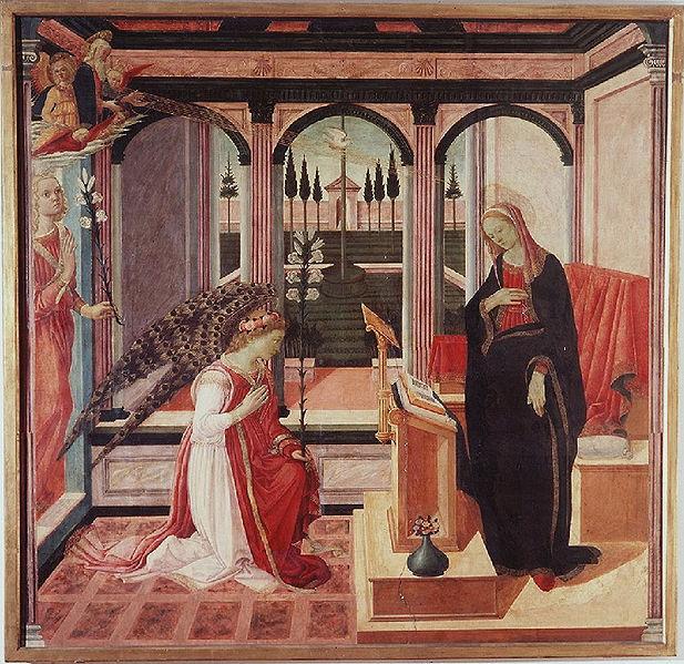 Filippino Lippi: Annunciazione