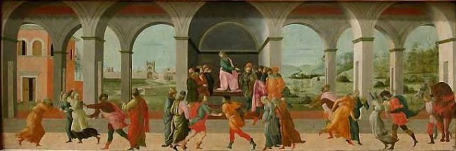 Filippino Lippi: Storie di Virginia