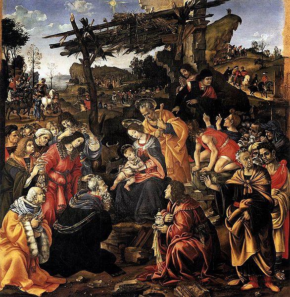 Filippino Lippi: Adorazione dei Magi