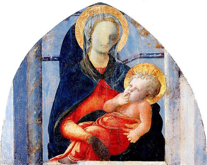 Filippo Lippi: Madonna col Bambino