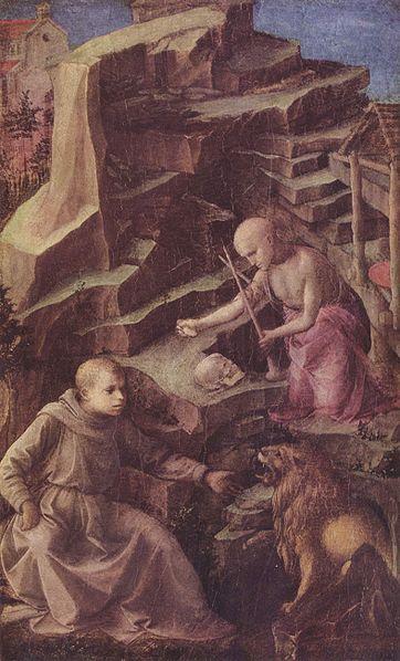 Filippo Lippi: San Girolamo penitente