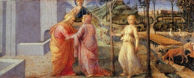 Filippo Lippi: Incontro alla Porta d'Oro