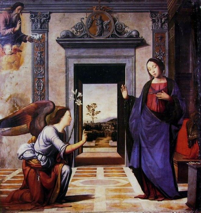 Fra Bartolomeo: Annunciazione