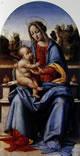 Madonna col Bambino, in trono