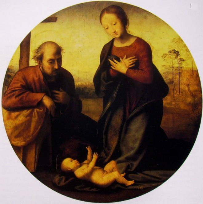 Fra Bartolomeo: Tondo Visconti Venosta