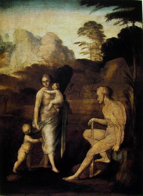 Fra' Bartolomeo: Adamo ed Eva con Caino e Abele