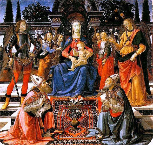 Domenico Ghirlandaio: Sacra conversazione degli Ingesuati