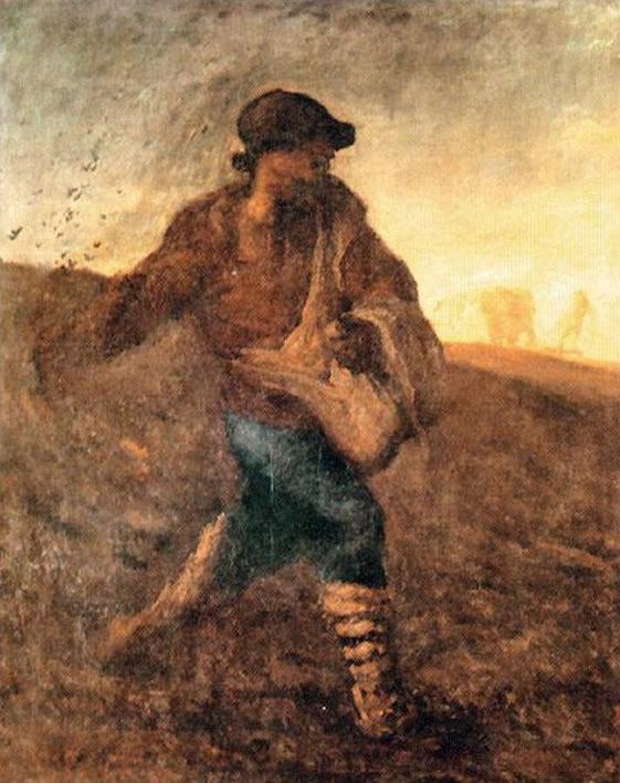 Image result for jean francois millet the sower