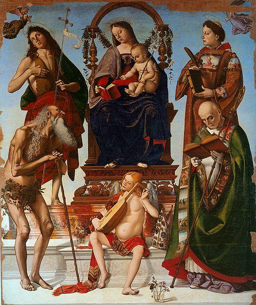 Luca Signorelli: Pala di Sant'Onofrio