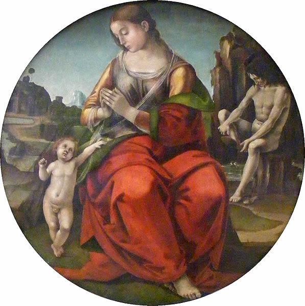 Luca Signorelli: Madonna col Bambino (Monaco di Baviera)