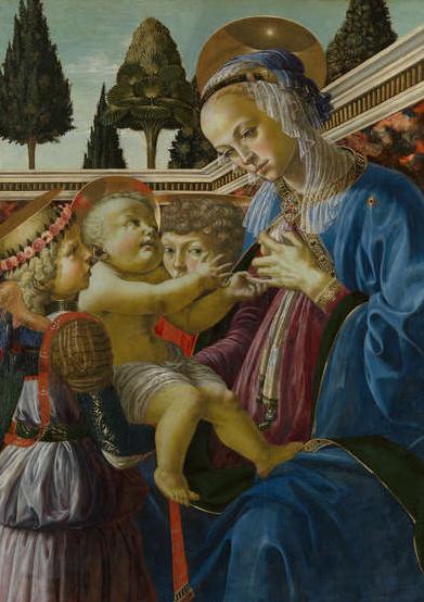 Andrea del Verrocchio: Madonna del Latte