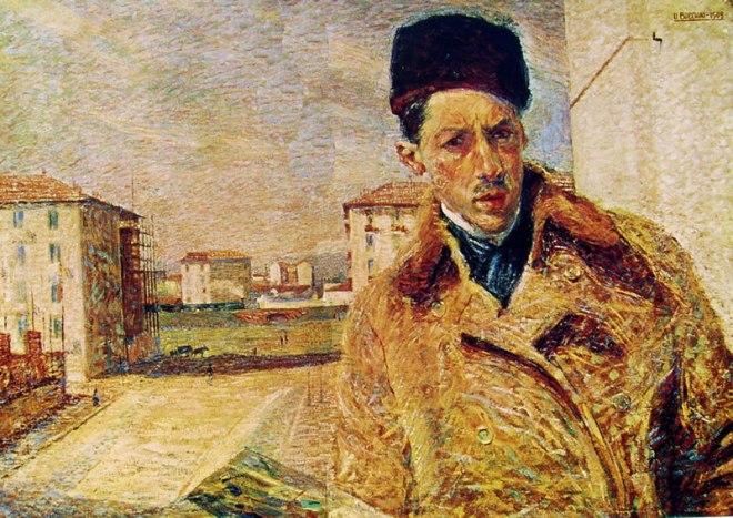 Autoritratto di Boccioni