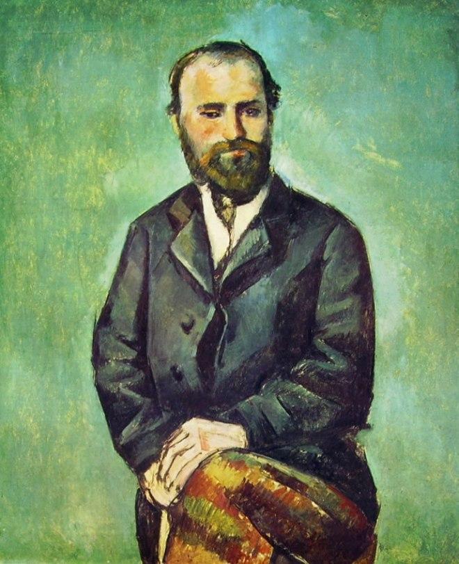 Paul Cezanne: Uomo seduto