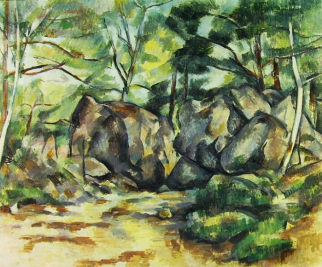 Paul Cezanne: Rupi nel bosco