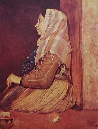 Degas - la mendicante romana