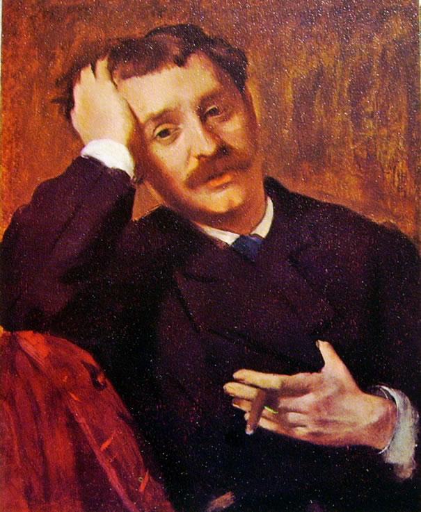 Ritratto di Pagans (l'uomo col sigaro)