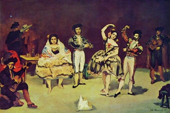 Edouard Manet: Il balletto spagnolo